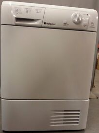Hotpoint condenser Dryer TCM580/PCC58937, 3 month warranty, delivery available in Devon/Cornwall