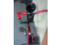 Exercise bike - portable, collapsable