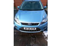 ford focus in metallic blue 11 mths mot