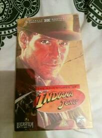 Indiana Jones Box Set videos for Sale.
