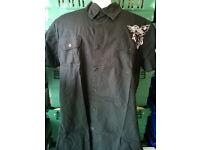 black henleys shirt