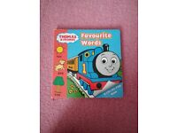 Thomas Favourite Words lift the flap board book