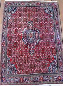 """Antique Bidjar rug, 5'8"""" x 4' (Halvai village rug - Kurdish)"""