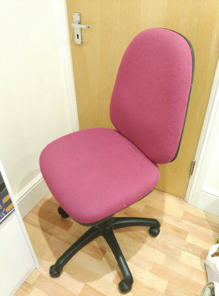 Red Office Chair - arms included