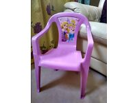 Beautiful Pink Frozen Elsa Anna chair in Pink