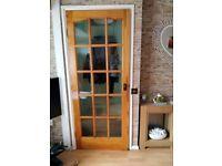 fully glazed internal doors