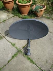 satellite dish for sale with 8 line connections