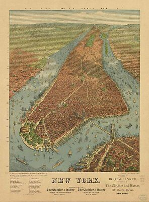 NEW YORK VINTAGE PANORAMIC MAPS COLLECTION ON DVD