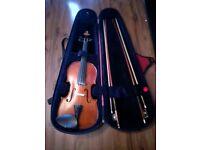 Violin +2 bows