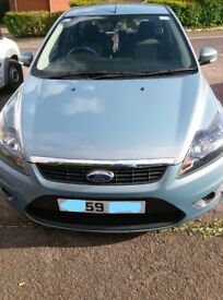ford focus 59 plate