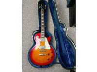 Black Guitar Case For Les Paul Style Guitar