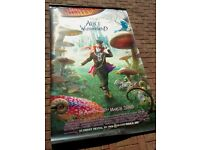 """Disney """"Alice in Wonderland"""" Mad Hatter - Cinema promotional poster - LARGE - Great condition"""
