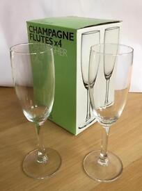 Champagne Flutes dishwasher Safe up to 116 units