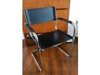 Italian Chrome Chair