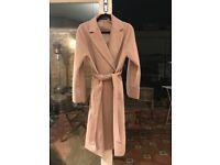 Uniqlo Beige Coat Perfect Condition!