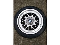 BMW E36 BBS RC041 Alloy Wheel and Michelin Tyre. Great condition with centre cap.