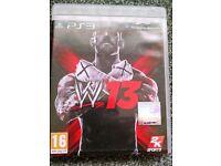 PS3 WW '13 - Wrestling