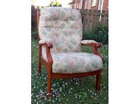 Sturdy Cintique Armchair