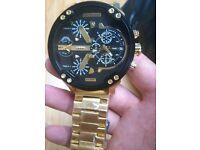 DIESEL Men's WATCH DZ7333 NEW*NOT Rolex Hublot Breitling Tag Heuer Omega Cartier Gucci Mont Blanc*
