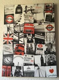 London Wall Canvas