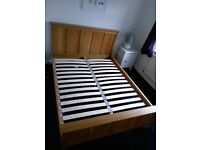 King-size NEXT double bed - perfect condition