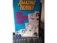 AMAZING HEROES COMICS