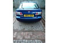 Here I have a Mazda 6 1.8 petrol me like swap for car