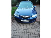 Here I have a Mazda 6 1.8 petrol car me like to swap or for sale