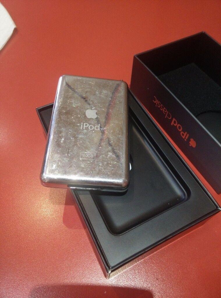 iPod Classic 80GB Black 6 Generation