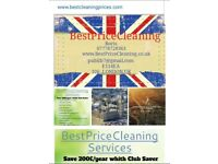 Cleaning services offer