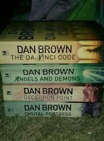 4 Dan Brown Books
