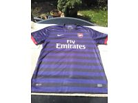 9 Arsenal Away Shirts - £200 or £25 each