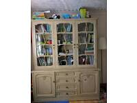 Display cabinet book storage unit shelves