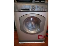 hotpoint washer/dryer in graphite