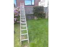 Metal Extendable ladder