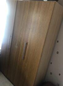 Big brown wardrobe