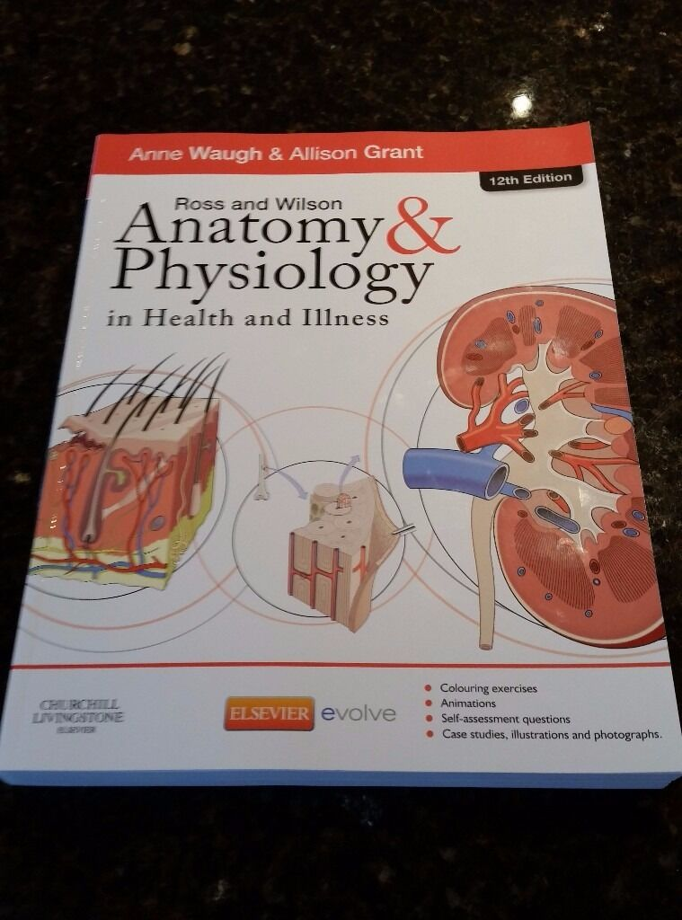 Ross & Wilson Anatomy and Physiology in Health and Illness 12th ...