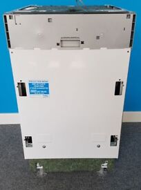 Beko Integrated Dishwasher 7685653845-FS20454, 6mnth warranty, delivery available in Devon/Cornwall