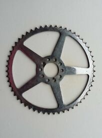 UNUSUAL VINTAGE TRACK BIKE 55t CHAINRING