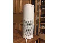 amazon echo- white- brand new- great gift idea