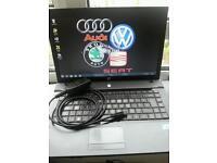 Elsawin dealer level and VCDS diagnostic tool for Audi VW Skoda Seat