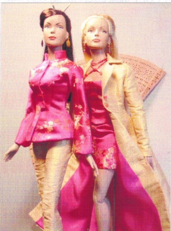 "Fashion dolls Long Evening Gown fits 15.5  & 16""Tonner Tyler Gene sew Pattern"