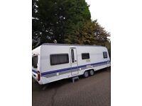 Hobby 650 UMF Prestige 2007 5 berth Touring Caravan will go quickly!