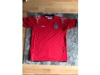 England football shirt