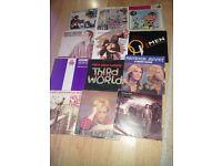 90 single 7 inch records mixed