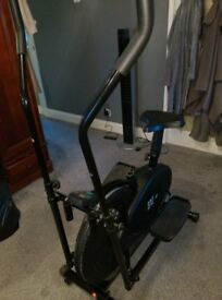 Cross Trainer combined with exercise bike