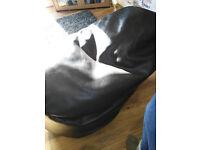 Bean bag chair brown PVC