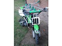 125cc monster pro pitbike may swap part x try me bargsin ......