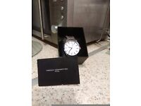 Brand new in box silver French Connection wrist watch