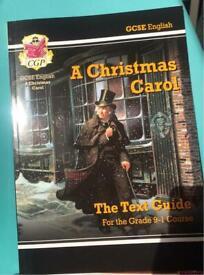 A Christmas Carol Text Guide CGP
